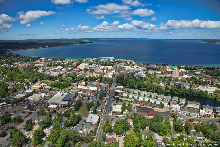 Aerial Traverse City Photos